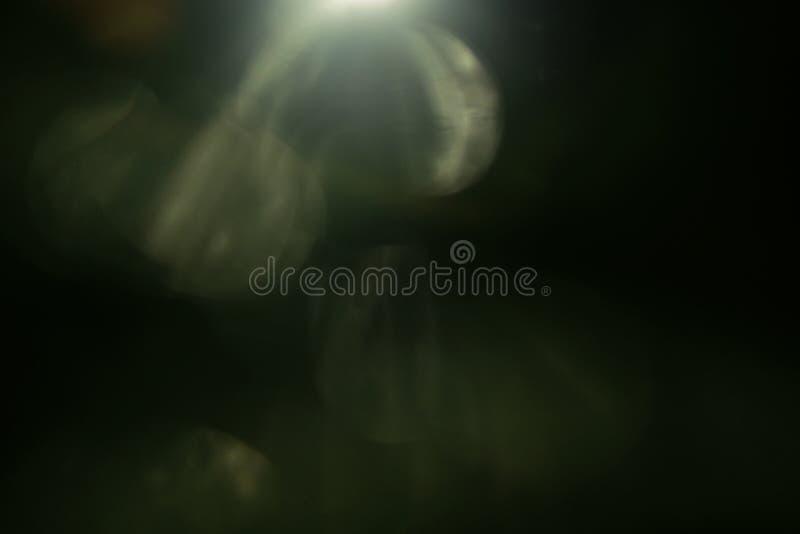 真正的透镜火光光线影响 光芒泄漏 免版税库存照片