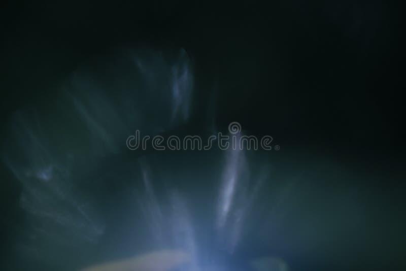 真正的透镜火光光线影响 光芒泄漏 库存照片