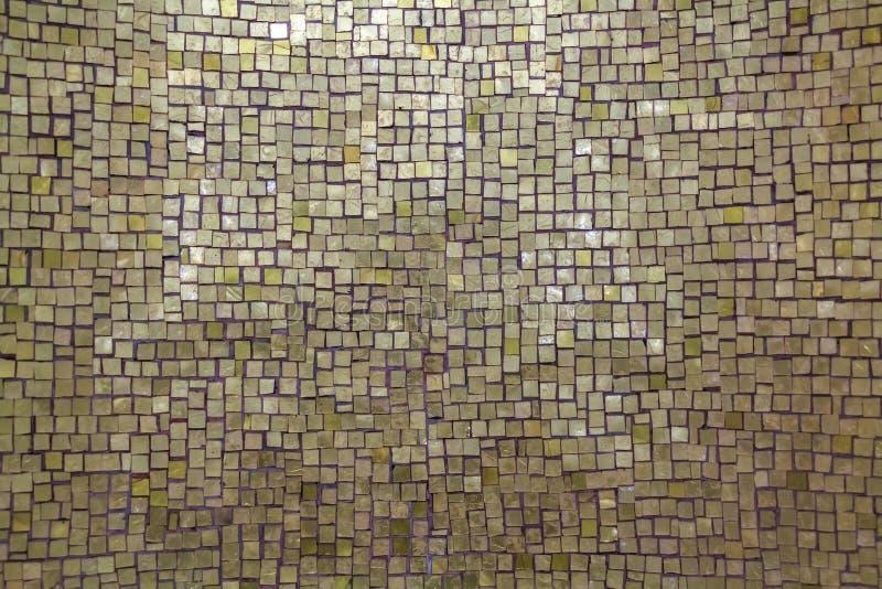 真珠色的马赛克背景 免版税库存图片