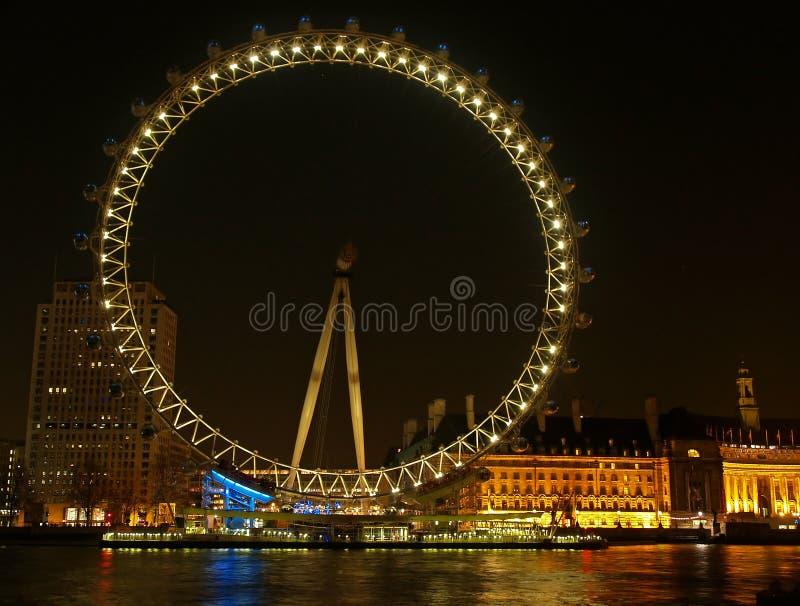 眼睛伦敦 库存图片