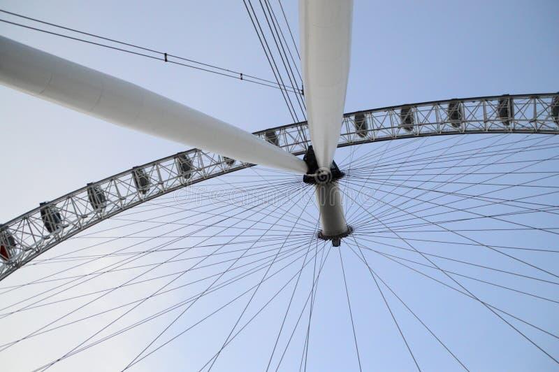 眼睛伦敦 免版税库存图片