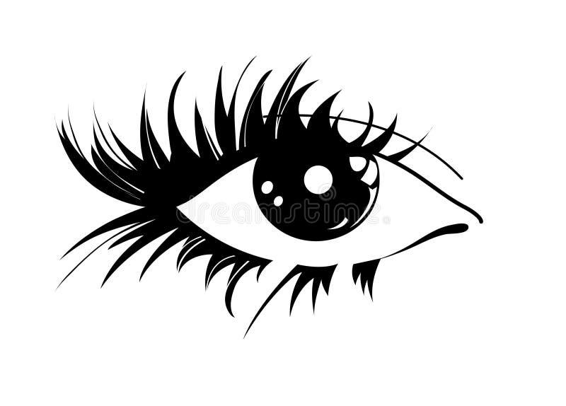 眼睛图象 皇族释放例证