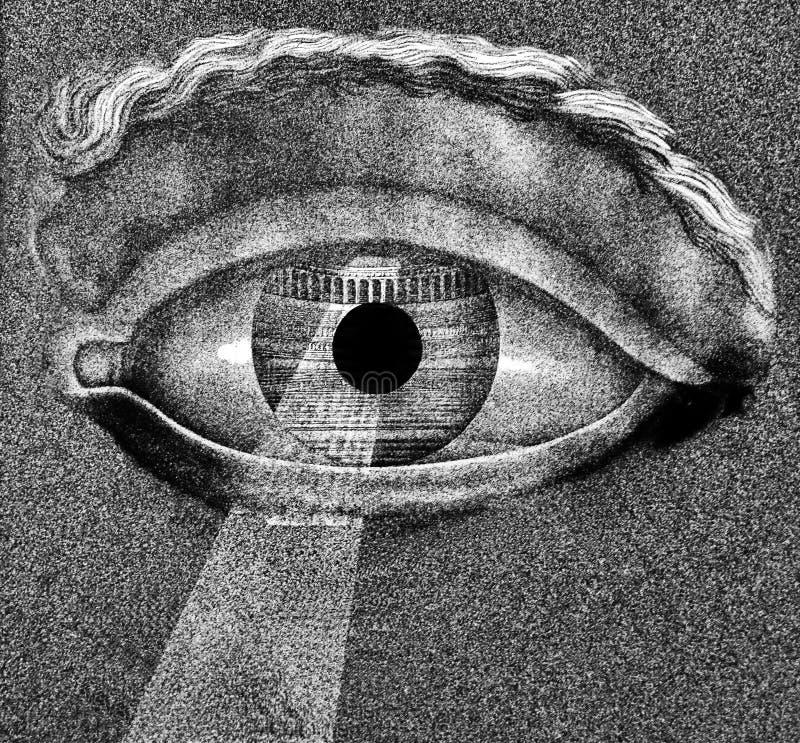 眼睛概念 免版税图库摄影