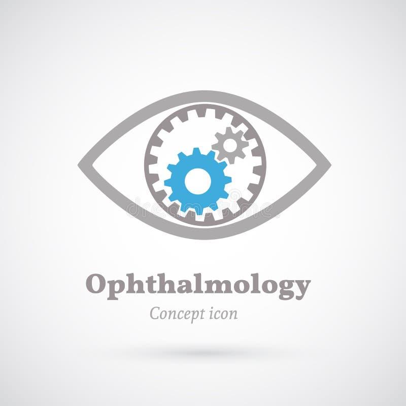 眼科学 向量例证