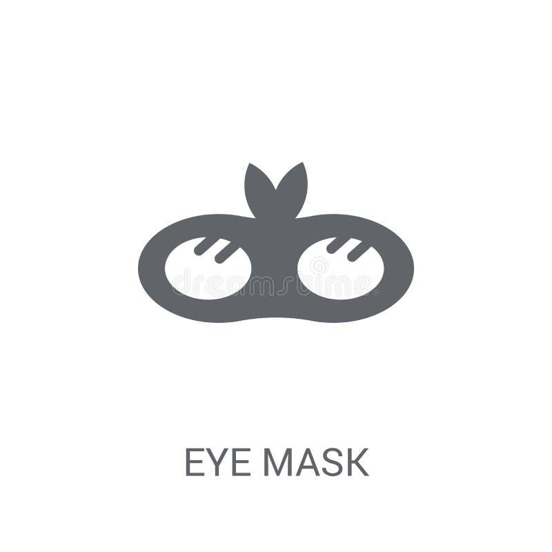 眼罩象  库存例证
