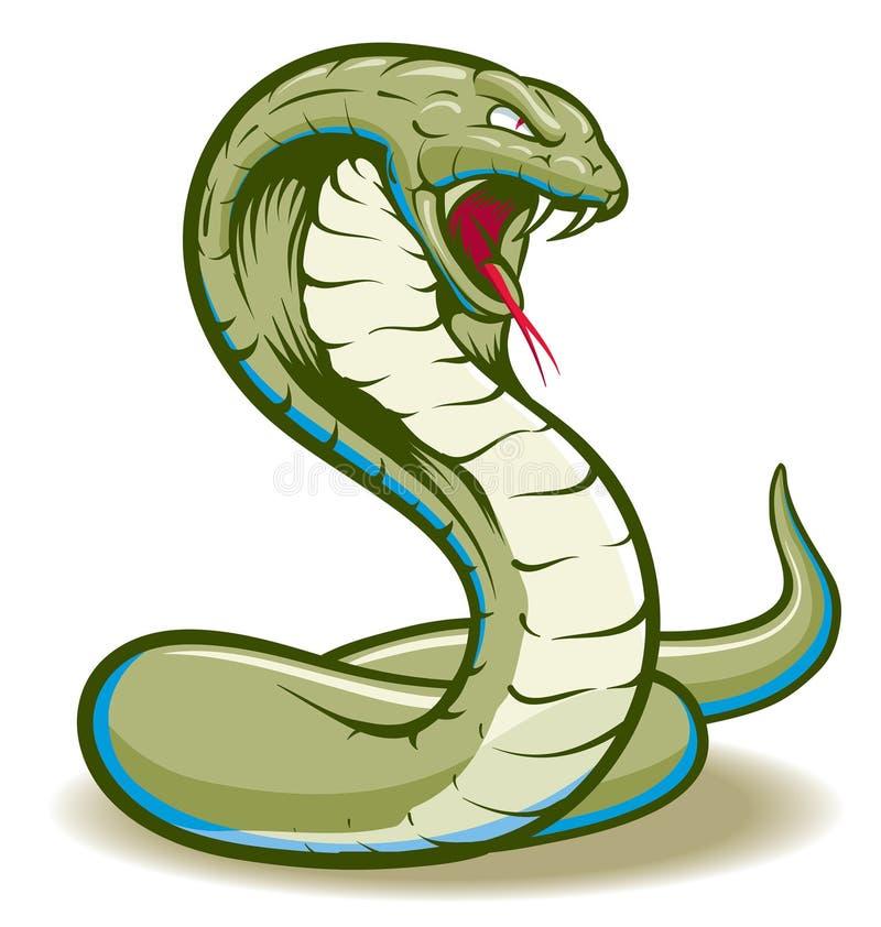 眼镜蛇 库存例证