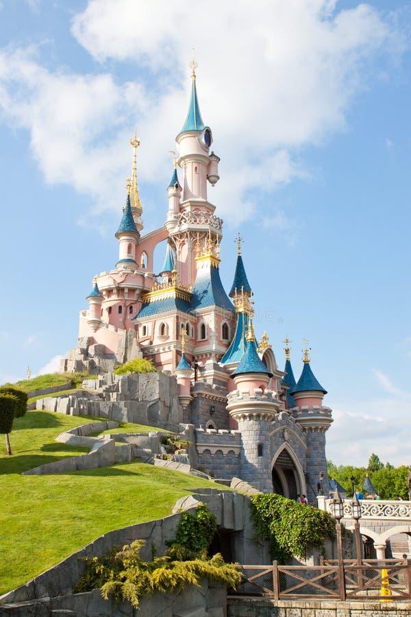 睡美人城堡 库存照片