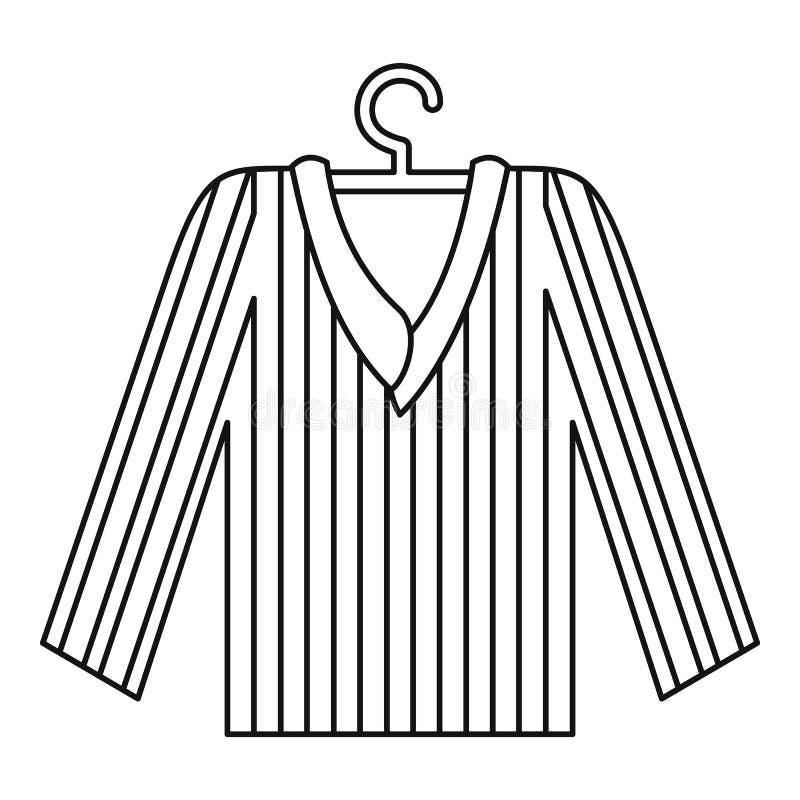 睡衣衬衣象 概述睡衣衬衣网的传染媒介象的例证图片