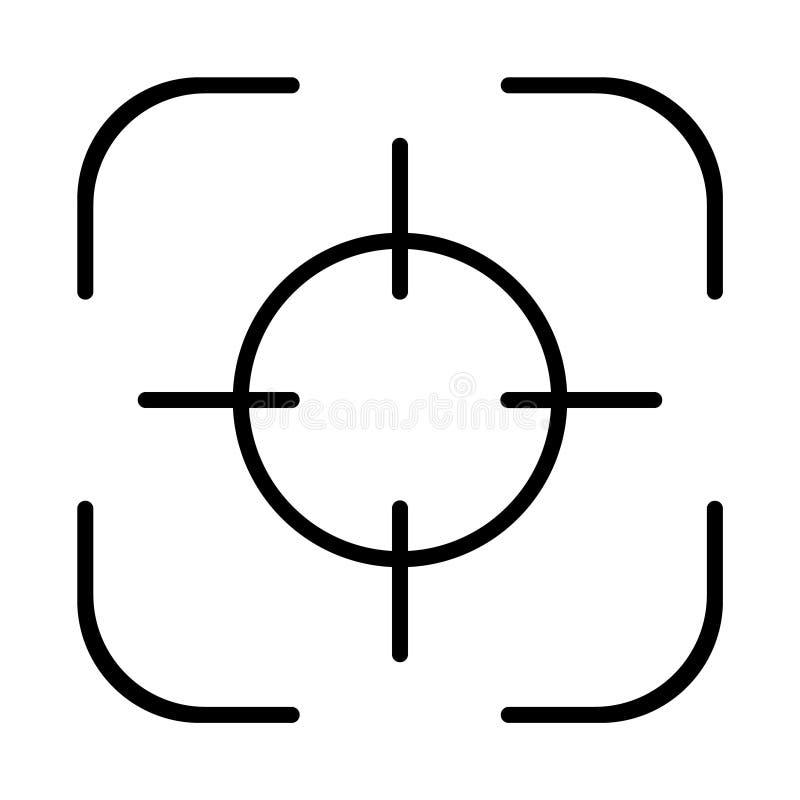 瞄准象,目标象 免版税库存照片
