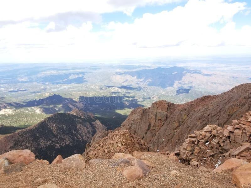 矛峰顶,科罗拉多 免版税图库摄影