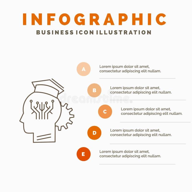 知识,管理,分享,聪明,技术Infographics模板网站的和介绍 r 皇族释放例证