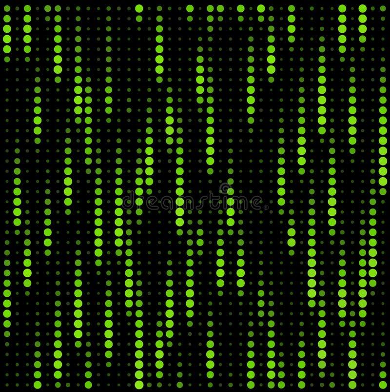 矩阵纹理 库存例证