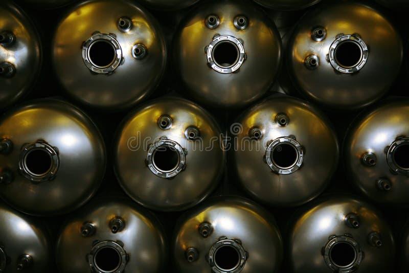 矩阵 colagiovanni钢锅炉水加热器 传动机 免版税库存图片