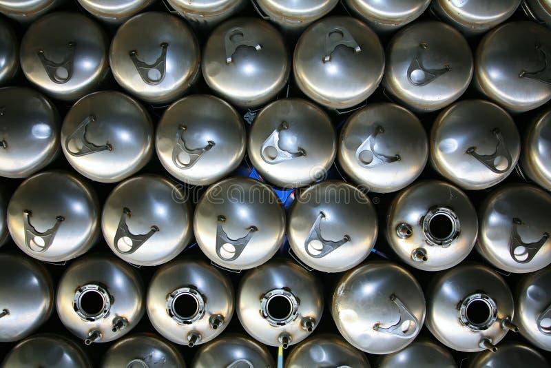 矩阵 colagiovanni钢锅炉水加热器 库存照片