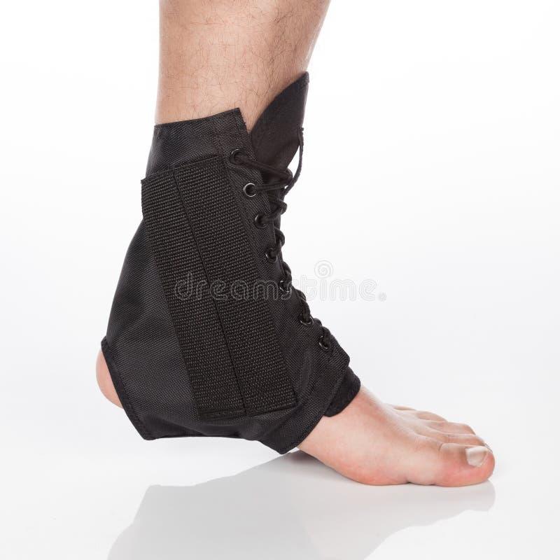 矫形脚踝支柱 库存照片
