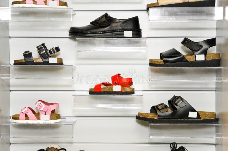 矫形鞋 库存照片