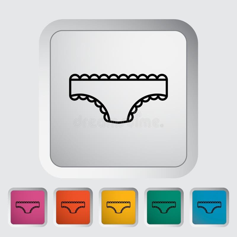 短内裤 向量例证