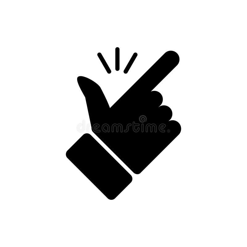 短冷期手指排行象 图形设计的,商标,网站,社会媒介,流动应用程序,ui例证容易的概念传染媒介 皇族释放例证