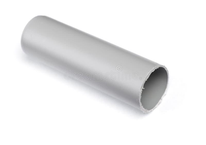 短的塑料管子 免版税库存照片