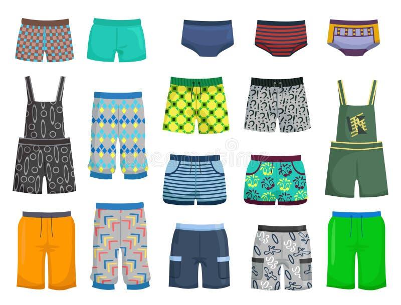 短裤和内裤 库存例证