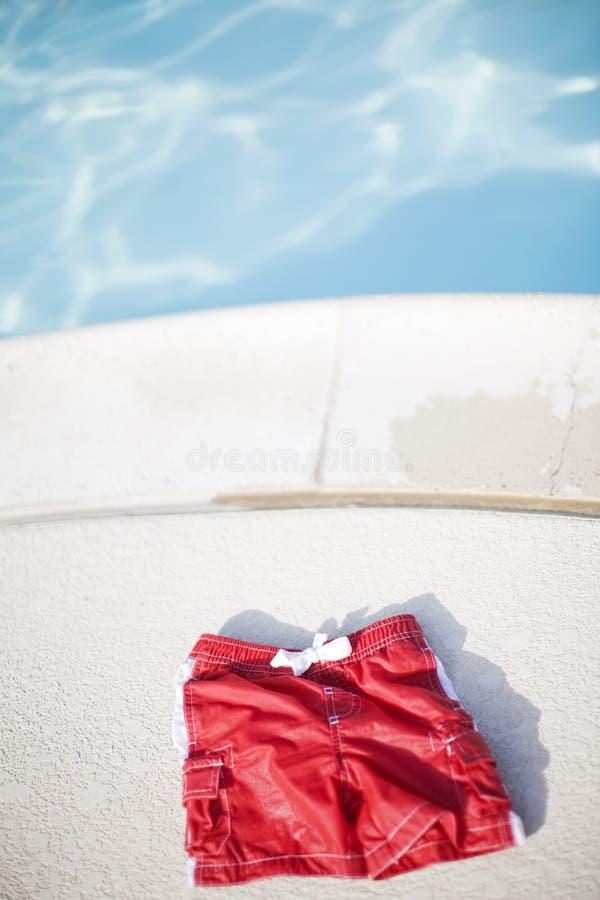 短裤游泳 免版税库存图片