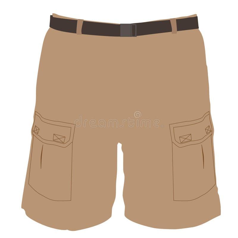 短裤 向量例证