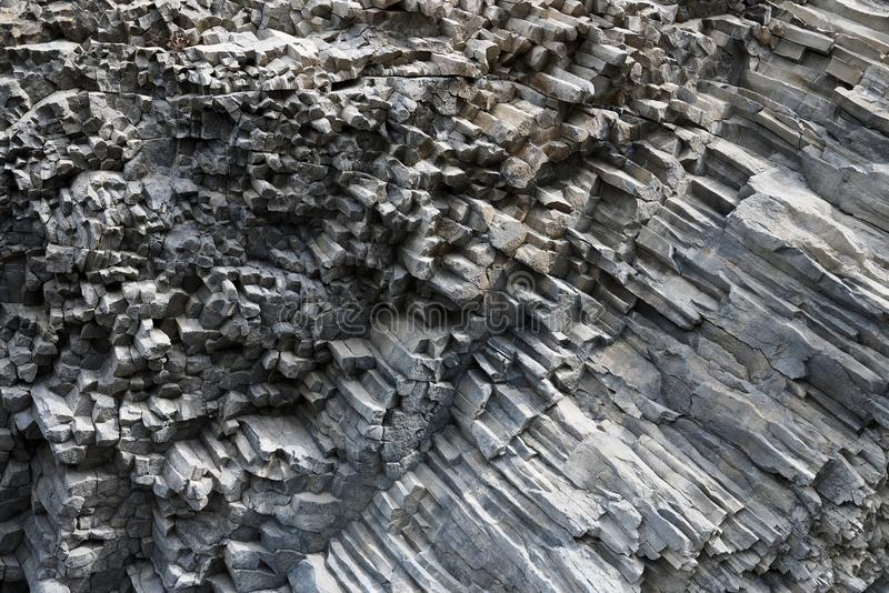 石化火山的lav的背景纹理 免版税图库摄影