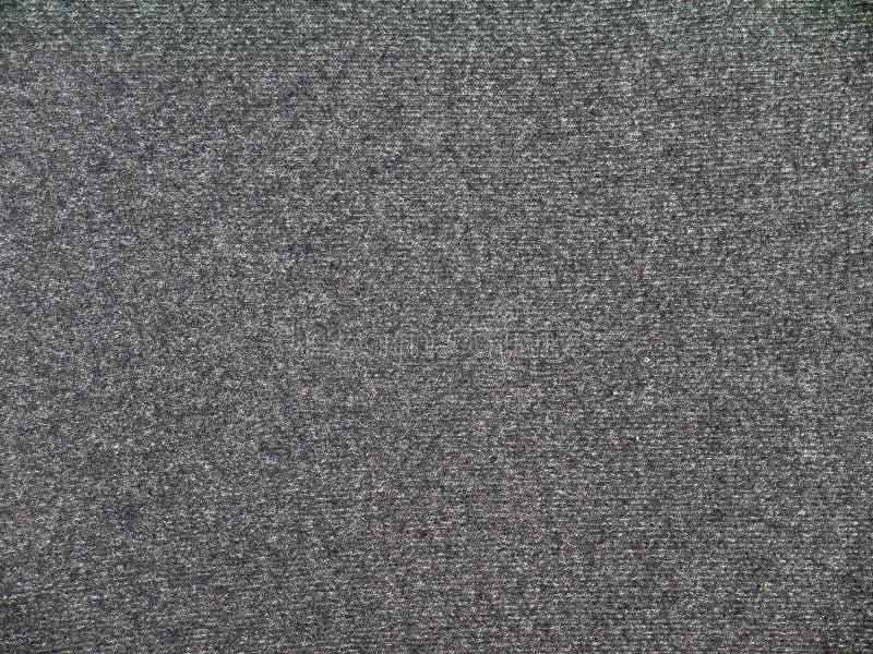 石南花灰色针织品织品纹理 免版税库存图片