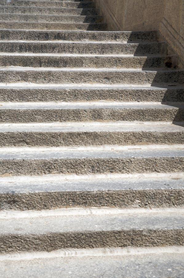 石台阶阶  免版税库存照片