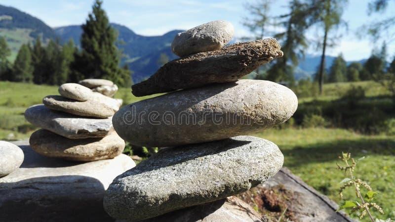 石堆 免版税图库摄影
