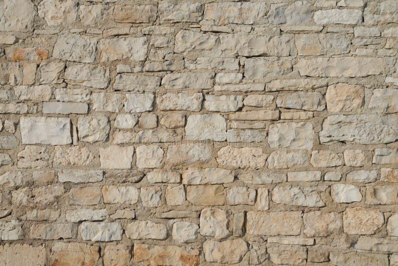 石墙由石灰石块做成