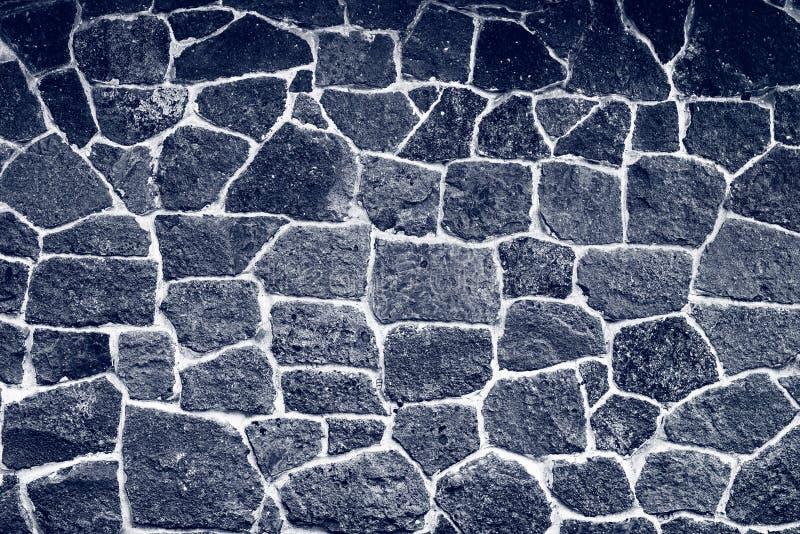 黑石墙纹理 库存照片