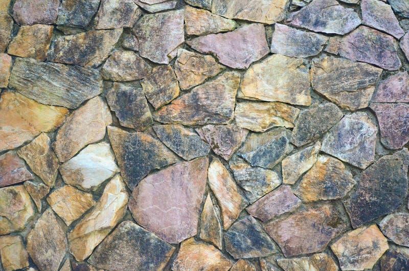 石墙背景 免版税库存照片