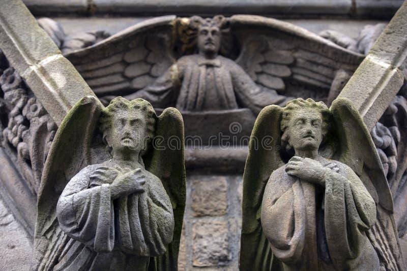 石天使 库存图片