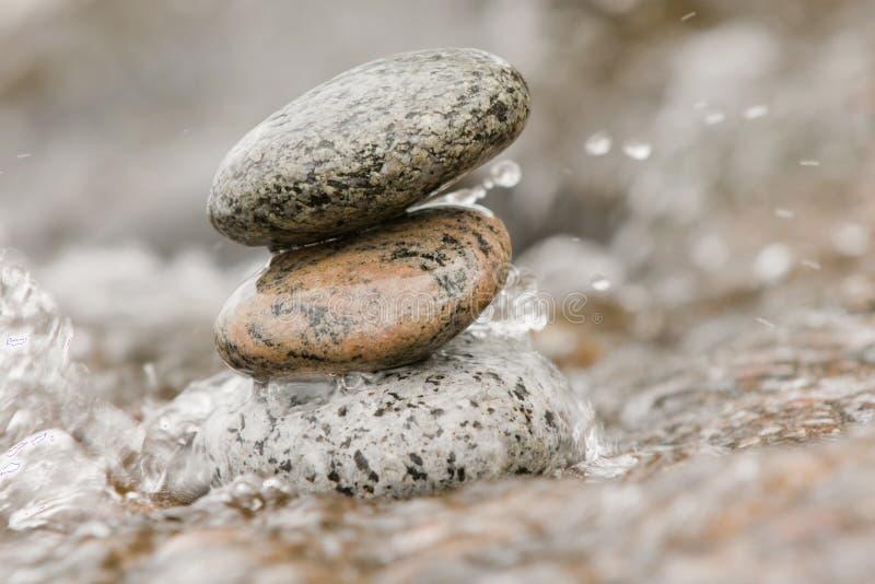 石头水禅宗 库存图片