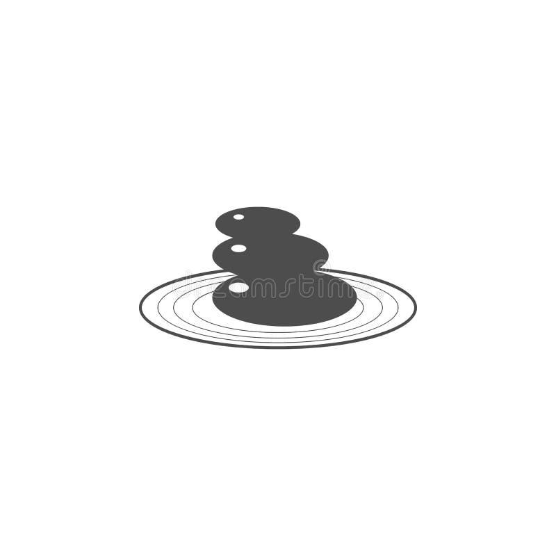 石头象庭院  中国文化象的元素 优质质量图形设计象 婴孩标志,概述标志collecti 皇族释放例证