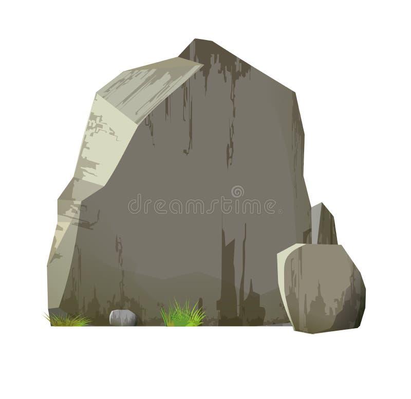 石头 皇族释放例证