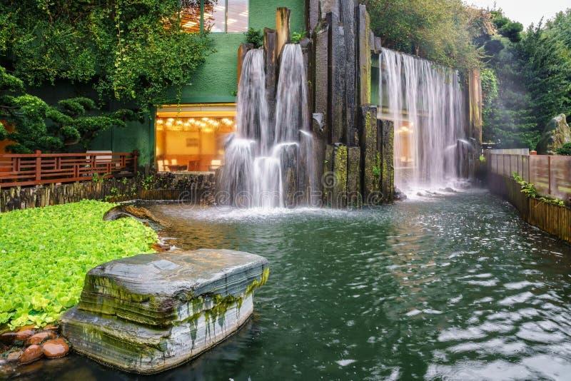 钻石山的南连家庭院在香港 库存照片