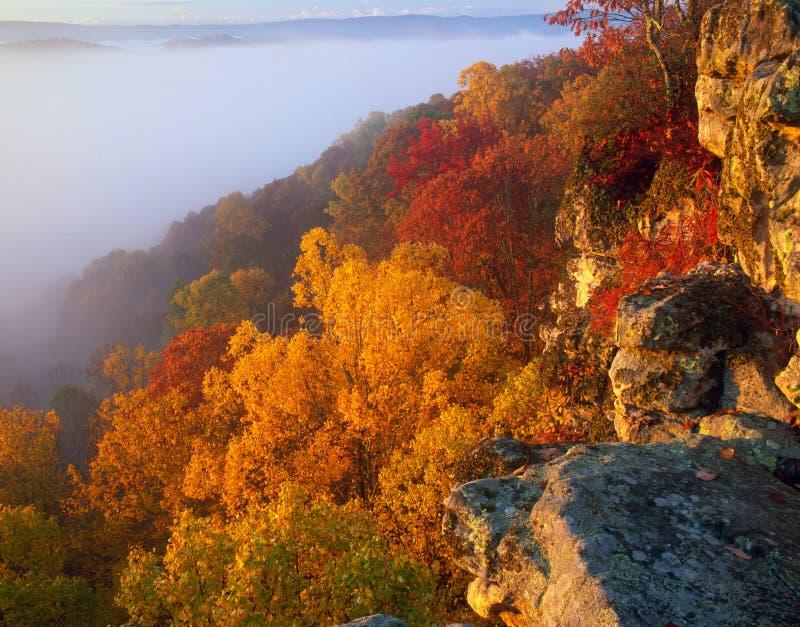 石峰岩石国家公园 免版税库存图片