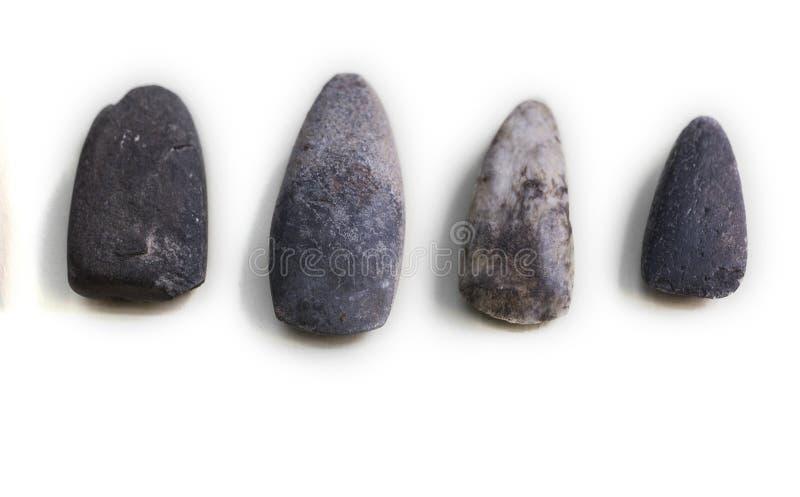 石工具 四石凿子 库存图片