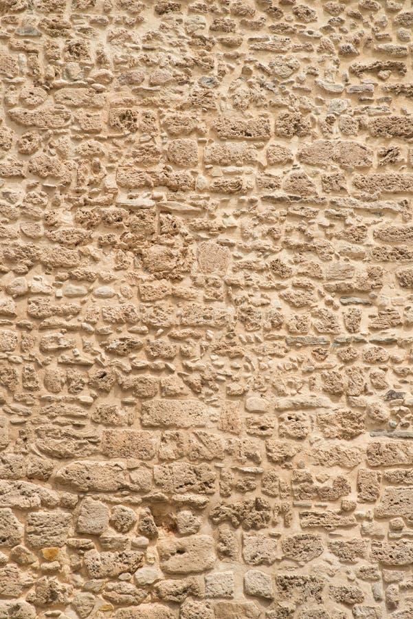 石工老墙壁 库存图片