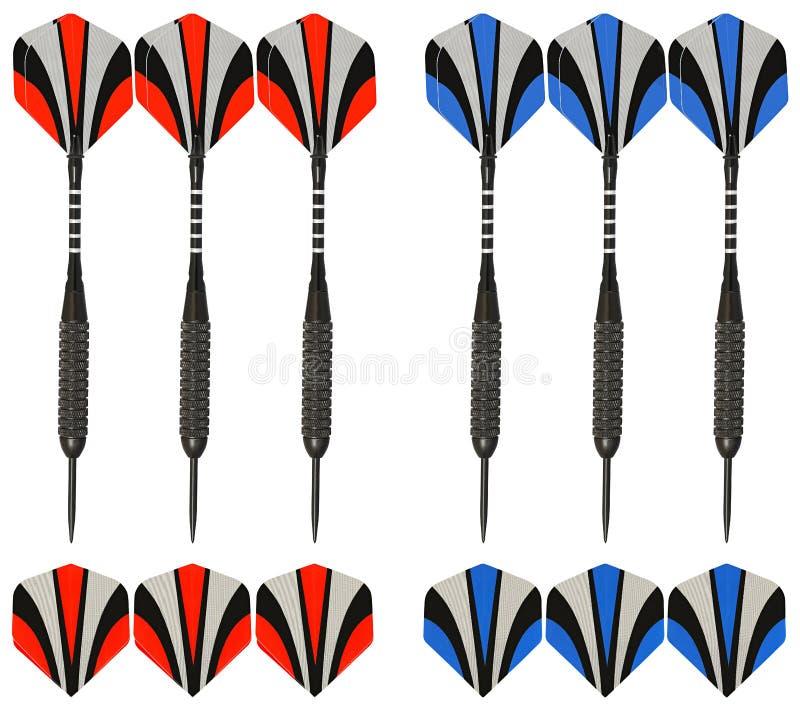 石弓目标箭头六和平是全部用最优质碳纤维做了 免版税图库摄影