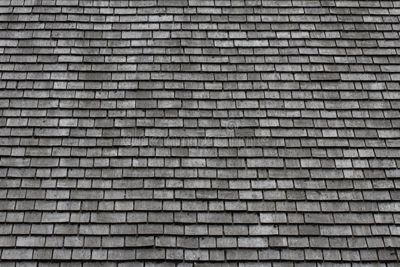 石板屋顶背景 免版税图库摄影