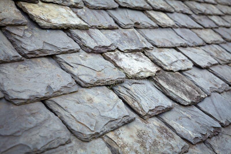 石板屋顶 库存图片