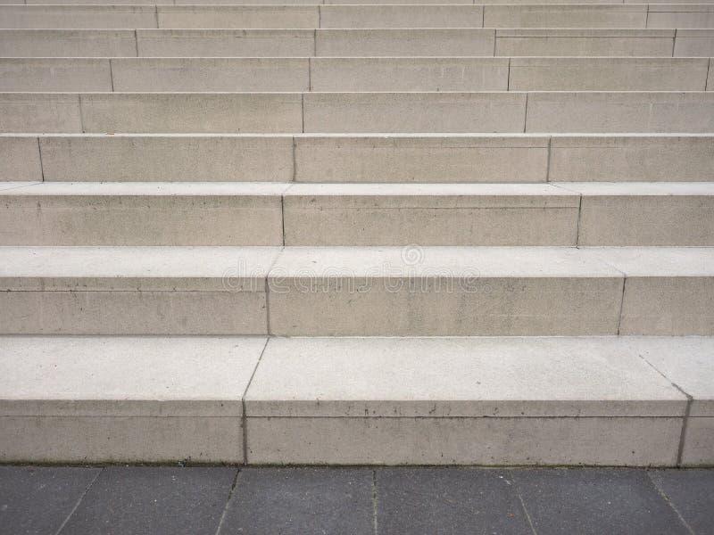 石楼梯步 免版税库存照片