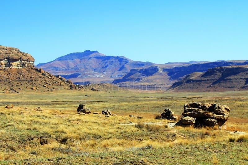 石沙漠 免版税库存图片