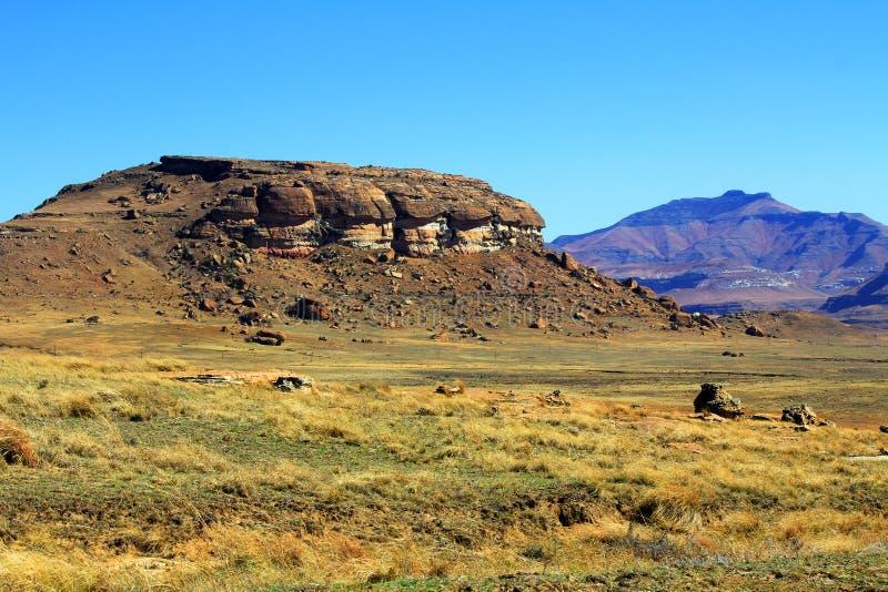 石沙漠 免版税库存照片