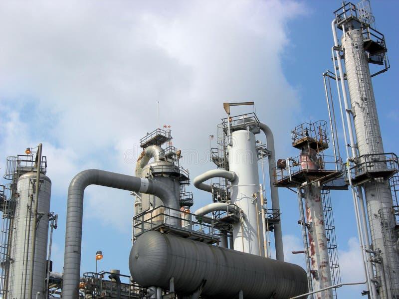 石油化学的部件 免版税库存图片
