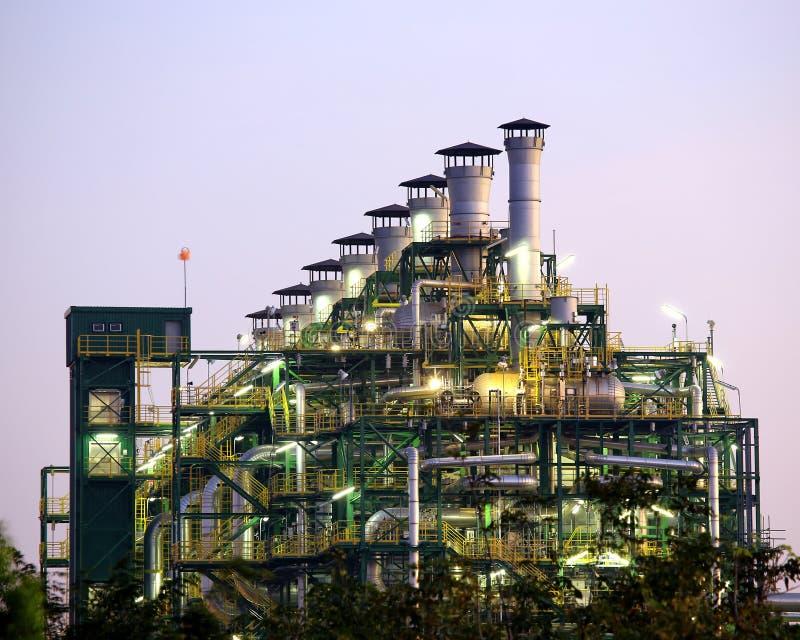 石油工业安装设备 库存照片