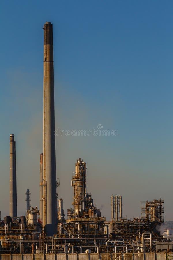 石油炼厂厂 免版税图库摄影